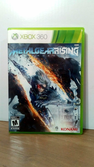 Metal Gear Rising Revengeance Xbox 360 Usado