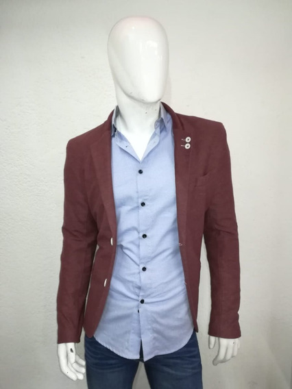 Saco Para Hombre Color Bordo