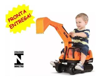 Escavadeira Gigante Infantil Giant Escavator - Roma