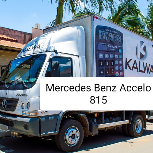 Imagem 1 de 5 de Mercedes Benz Accelo 815