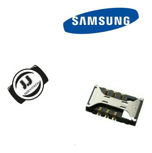 Lector De Sim Samsung Galaxy S3 Mini 8190 8200 Originales