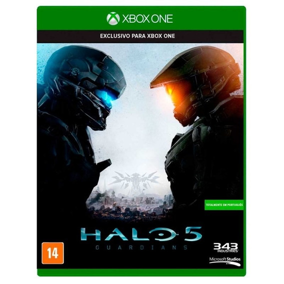 Halo 5 X Box One Midia Fisica