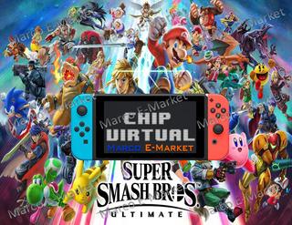 Chip Virtual Nintendo Switch + Super Smash Bros Ultimate