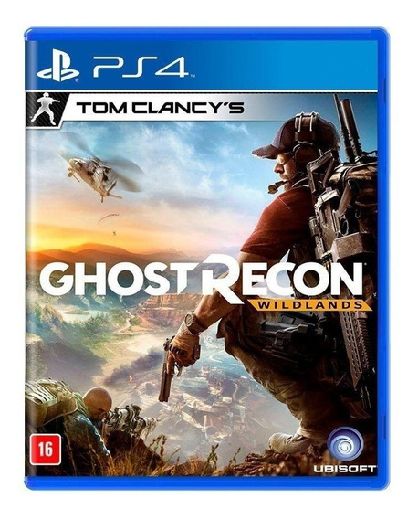 Ghost Recon Wildlands (português) - Ps4 - Novo - Física