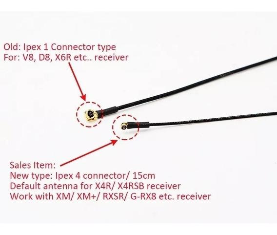 Antenas Receptores Frsky Ipex V4(2 Un) Xm+ R-xsr Drone