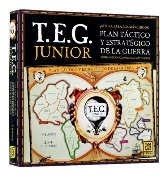 Juego De Mesa Teg Edicion Junior Yetem Full