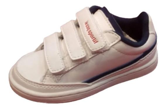 Zapatillas Lecoq Sportif Original Niño Niña Court Clay Inf