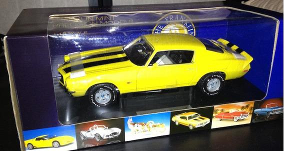 Mini Chevrolet Camaro Z-28 1970 Franklin Mint 1:18 Raridade
