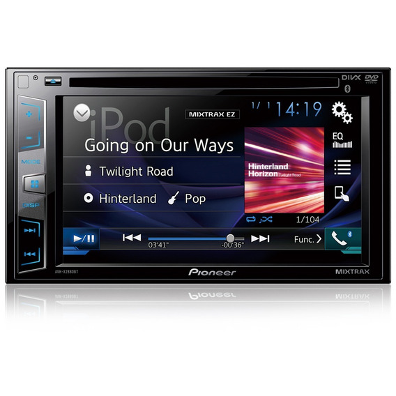 Dvd Player Automotivo Avh-x2880bt