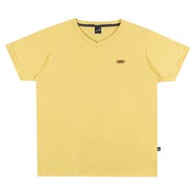 Camisa Infantil Masculina Elian Amarela