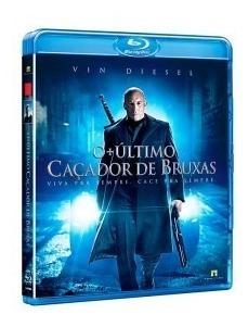 Blu Ray O Último Caçador De Bruxas - Vin Diesel - Original