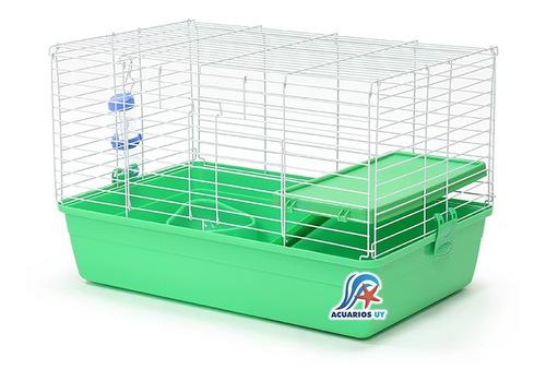 Jaula Mediana P/ Conejos Cuis Cobayos Completa. Dayang R2-1