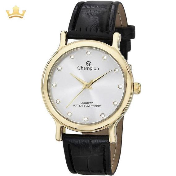 Relógio Champion Feminino Ch22733b Com Nf