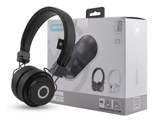 Original Headphone Wireless Com Entrada Auxiliar P2 K11
