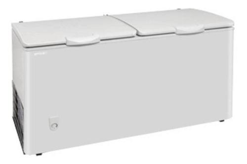 Imagen 1 de 3 de Freezer Horizontal Briket Fr 4500 Blanco 390l 220v