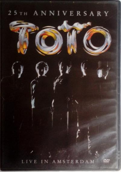 Dvd Toto 25 Th Aniversary Live In Amsterdam Raridade