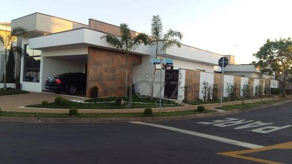 Deslumbrante Casa Térrea À Venda, Condomínio Campos Do Conde Ii, Paulínia. - Ca4263