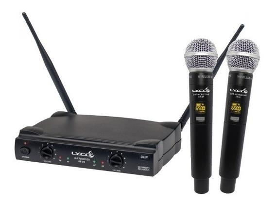 Microfone S/ Fio De Mão Digital Lyco Uh-08mm