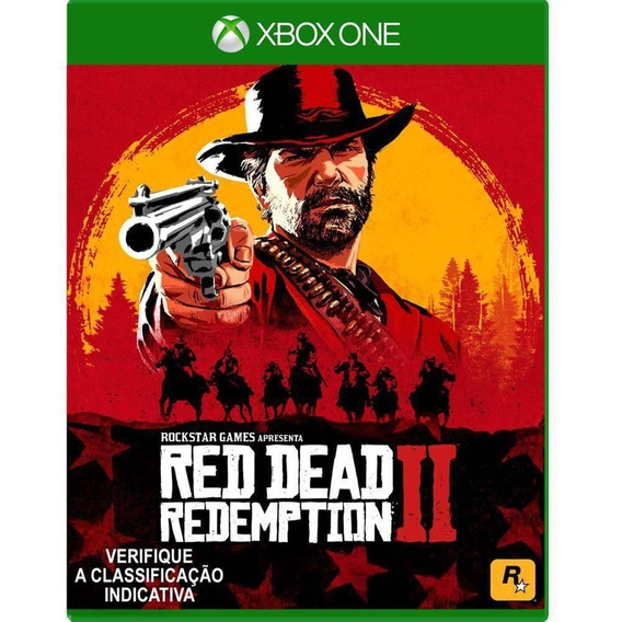 Red Dead Redemption 2 (mídia Física Leg Pt-br) Xbox One