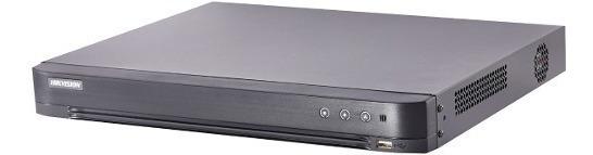 Dvr Hikvision Turbo 4 Canais 3mp 4.0 7204hqhi-k1/p Poe