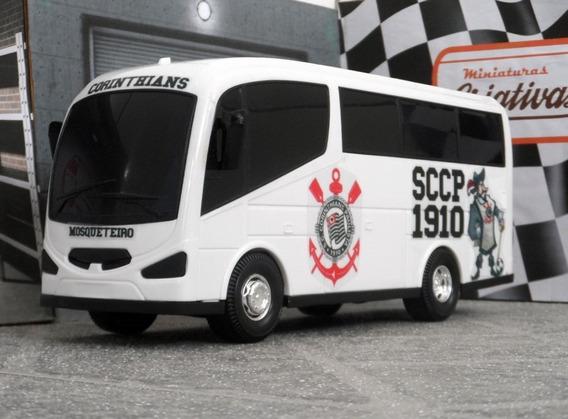Miniatura Viatura Micro-ônibus Corinthians - Time De Futebol