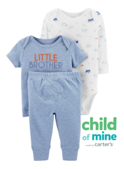 Carter´s Child Of Mine Set Little Brother 3 A 18 Meses