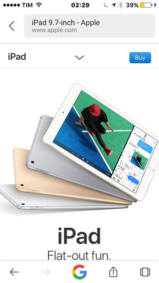 iPad 2 32 Gb Cinza