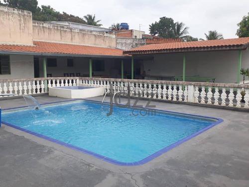 Chácara Com 4 Dormitórios À Venda, 1000 M² Por R$ 470.000 - Campinas/sp - Ch0293