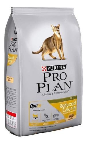 Alimento Pro Plan OptiFit Reduced Calorie para gato adulto sabor pollo/arroz en bolsa de 3kg