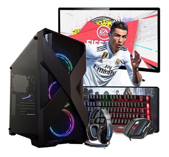 Pc Gamer Completo Intel I5 Gtx 1660 6gb 8gb Hd 1tb Wi-fi