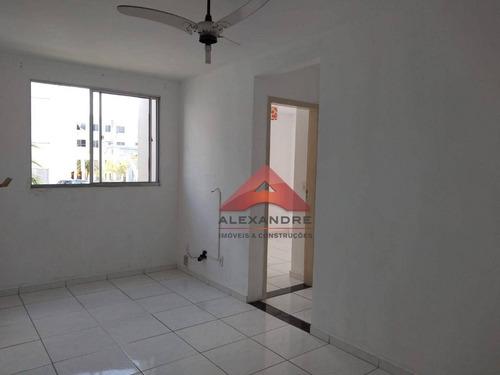 Imagem 1 de 8 de Apartamento Com 2 Dormitórios À Venda, 47 M² Por R$ 140.000,00 - Villa Branca - Jacareí/sp - Ap4317