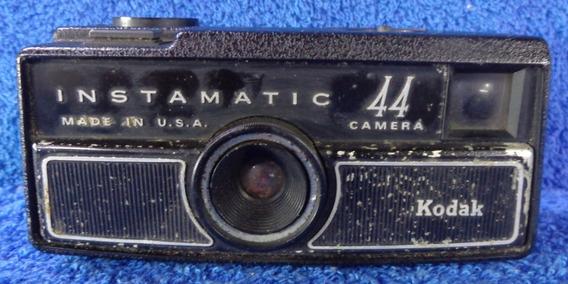 Maquina Fotografica Instamatica 44 Kodak Made In U.s.a Rara