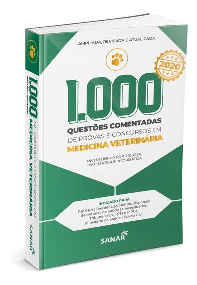 Livro 1000 Questões Medicina Veterinária Provas E Concursos