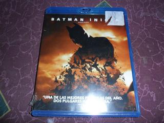 Batman Inicia Begins Christopher Nolan Pelicula Blu-ray