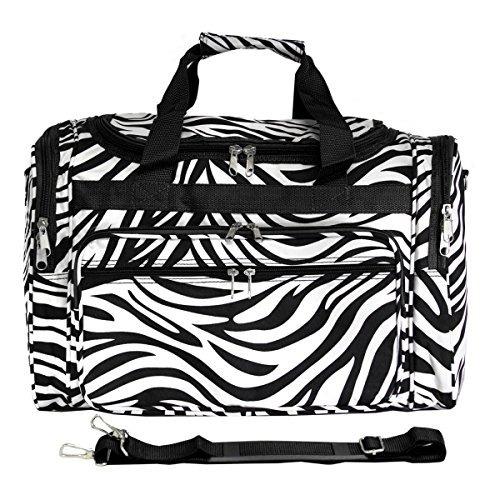 Viajero Del Mundo Zebra 22 Bolsa De Deporte 81t22163