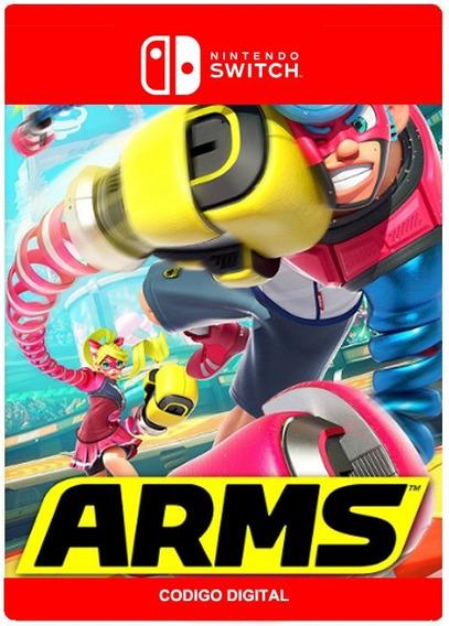 Arms - Nintendo Switch Versão Digital Código 16 Digitos