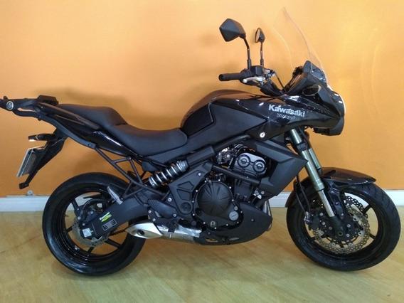 Kawasaki Versys 650 2012 Preta
