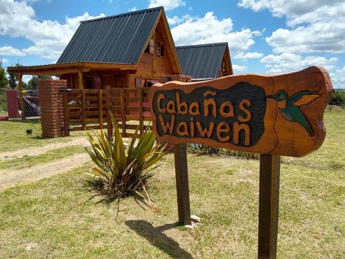 Imagen 1 de 14 de Alquiler Cabaña- Villa Giardino- Cordoba-cabañas Waiwen