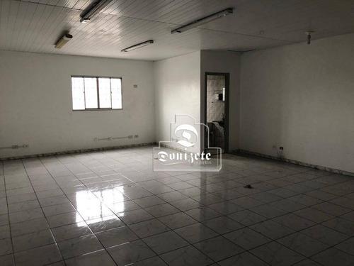Sala Para Alugar, 55 M² Por R$ 1.000,00/mês - Centro - Santo André/sp - Sa0666