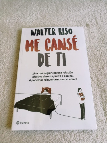 Me Canse De Ti Walter Riso Libro Nuevo Mercado Libre