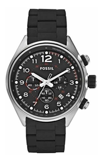 Relógio Fossil Flight Cronógrafo Fch2697 Original