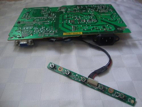 Tarjeta Electrónica Fuente Para Monitor Lenovo 15  Cantv