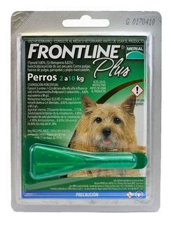 Frontline Plus 3 Pipetas Para Perro Antipulgas Perro Chico