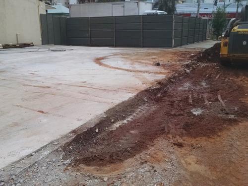 Escavação, Regularização E Tapume