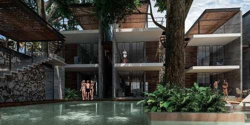 Ph De 2 Recámaras Con Roof Garden Y Jacuzzi En Tulum
