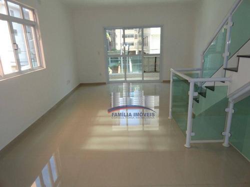 Imagem 1 de 30 de Casa À Venda, 200 M² Por R$ 1.100.000,00 - Ponta Da Praia - Santos/sp - Ca0780