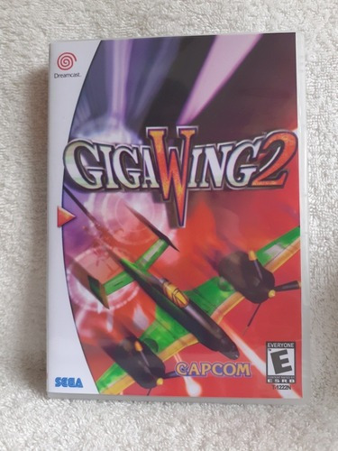 Gigawing2 Para Dreamcast - Patch