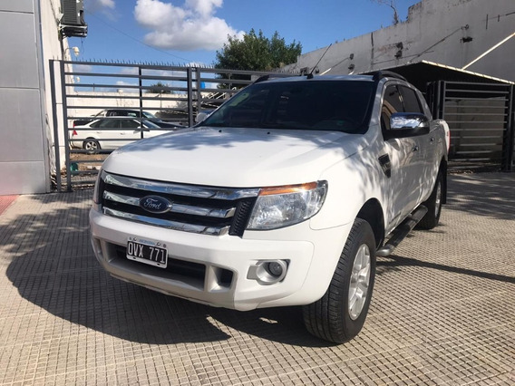 Ford Ranger 3.2 Cd Ltd At 4x4 Blanco 2015 188.000 Km Roas