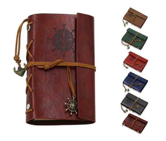 Diário Vintage Pirata - Caderno Antiguidade Decorativo