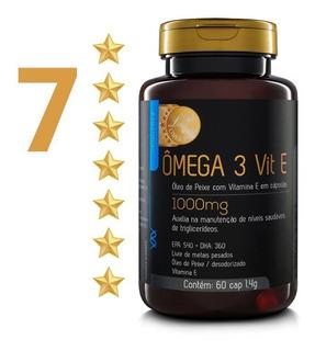 2 - Ômega 3 Upnutri ( 7 Estrelas ) C/ Vitamina E / 1000mg